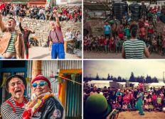 Circlosión de Carcajadas- Indonesia 2019 (afectadxs por el terremoto de 2018 en Lombok)