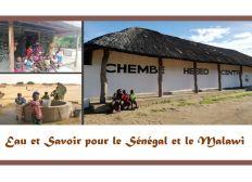 Eau et Savoir pour le Sénégal et le Malawi