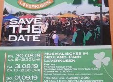 Zum erhalt der Irish-days im Neuland-Park Leverkusen