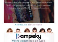Application de vente version androïde (Kampeky)