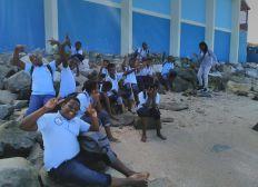 Classe de découverte des enfants du collège du Mont des Accords de Saint-Martin en Guadeloupe