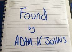 "Please Help Me Publish My Book ""Found""."
