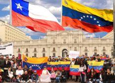 Venezuela en Chile