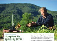 Un coup de pouce pour un jeune agriculteur qui fait pousser des tomates en Ardèche