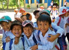 One more heart for orphans kids in Vietnam