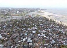 Spenden für Zyklonopfer in Mosambik