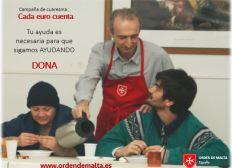 Comedores y centro social Orden de Malta Madrid