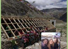 Mission solidaire dans l'Himalaya