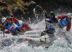 Primer equipo femenino de rafting chileno al mundial 2019