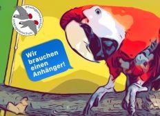 PKW Anhänger für die ARGE Papageienschutz