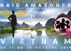 Les Sky Angels participeront au Raid Amazones Vietnam 2019