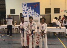 Marcel en Coupe de France de Taekwondo