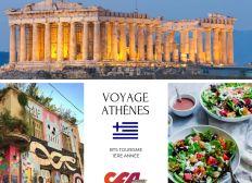 Athènes 2019 BTS Tourisme CFA Orléans Métropole