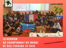 KAIAISSE : La Réunion au championnat du monde de kali aux Philippines