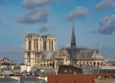 Reconstruction/ renovation Notre Dame de Paris