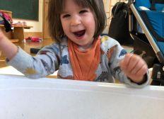 Reittherapie / Delphintherapie für die kleine Anni