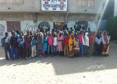 Construction d'une nouvelle salle de cours pour enfants vulnérables