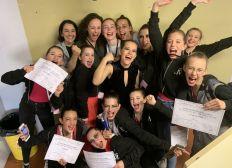 Figure M Danse sélectionnée au concours national de la CND
