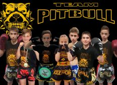 Kid's de la Team Pitbull