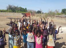 Une cantine pour l'école de Louly au Sénégal
