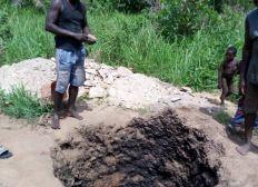 Un burineur pour des puits