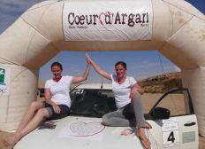 Alex et Victoire Raid Coeur d'Argan 2020