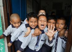 Voyage Humanitaire Népal