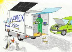 Les Vortex d'Eric,  Aménagement d'un camion atelier autonome