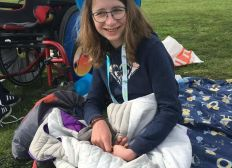 Un fauteuil et plus d'autonomie pour Lilou