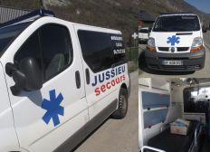 Une ambulance pour les marocains