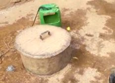 Un puit forage à Senou au Mali