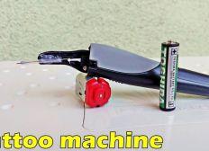 Machine a Tattoo Mathias