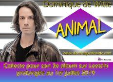"""Dominique de Witte - 3e album """"ANIMAL"""""""