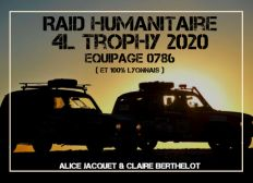 """Objectif 4L Trophy 2020 : """" 4L de poulettes """""""