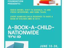 A book a Child Nationwide Tour