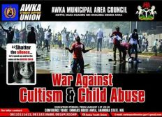 SUPPORT AWKA YOUTH TO END CULTISM & CHILD ABUSE IN OUR LOCAL COMMUNITIES