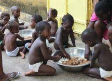 Collecte pour les enfants au Sénégal