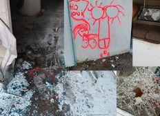 Réparation du vandalisme du motocross de Castelnau