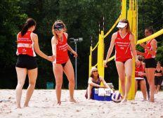 Sponsoring Nachwuchsteam Beachvolleyball