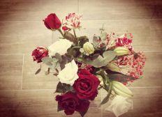 Des fleurs dans l'assiette
