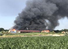 Aide à la Ferme des 4 saisons d'Eckwersheim suite à l'incendie