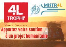 4LMISTRAL - 4L Trophy 2020