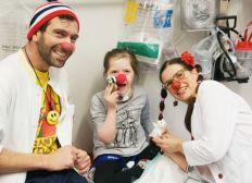 Klinik-Clowns Unterstützen
