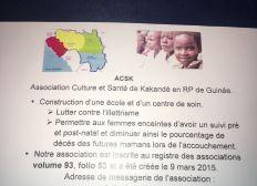 ASSOCIATION CULTURE ET SANTE DE KAKANDE (ACSK)
