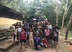 Cambodian kids in Thailand