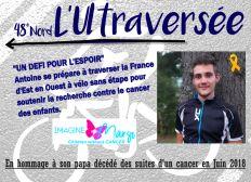 Traversée de la France SANS ETAPE contre le cancer des enfants-L'Ultraversée JUIN 2020
