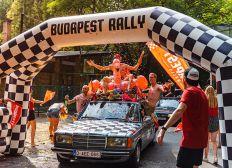 Projet étudiant Budapest Rallye