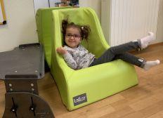 Centre de rééducation intensive pour Giulia atteinte du S.H.U