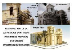 PARTICIPEZ A LA RESTAURATION DE LA CATHEDRALE SAINT LOUIS AU SENEGAL