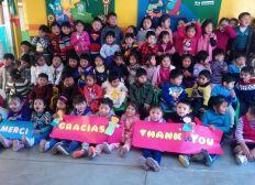 Enciende una chispa de esperanza en Bolivia